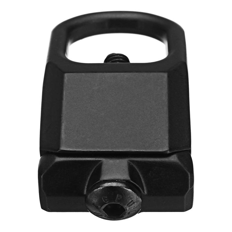Sling Mount Plate Adaptor Attachment fits 20mm Picatinny Rail Adapter Black