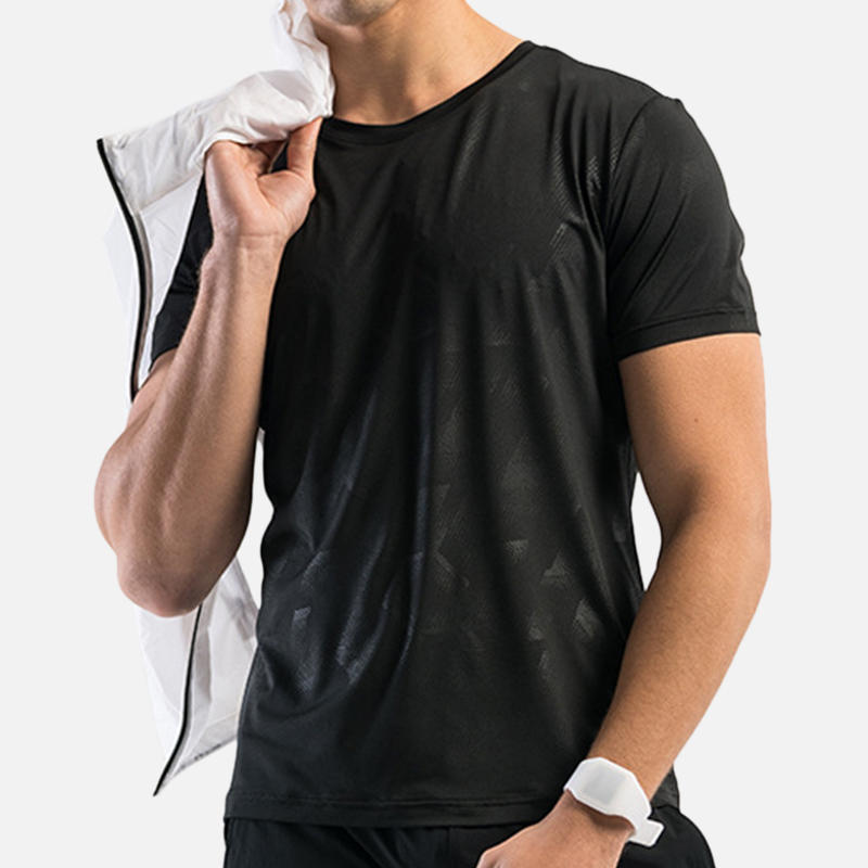 Mens Outdoor Breathable Soft Qucik Drying Short Sleeve Tops