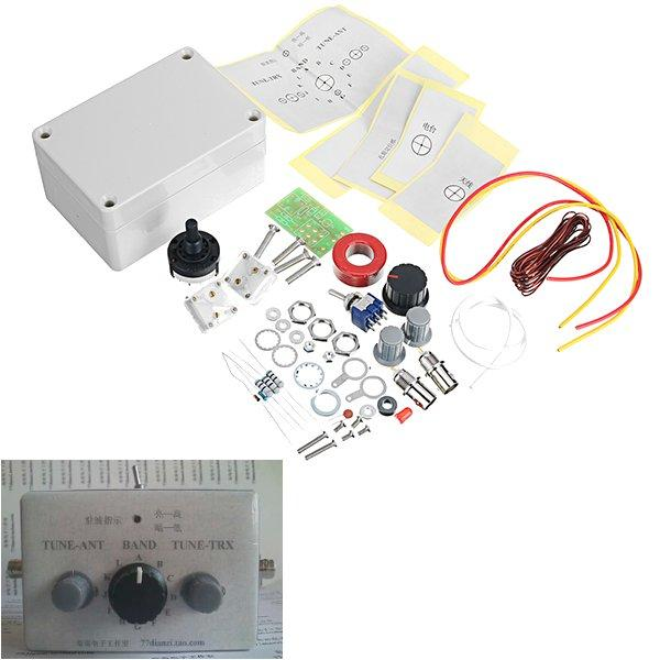 1-30Mhz LED VSWR DIY Manual Antenna Tuner Kit For HAM RADIO * CW QRP Q9 BNC Interface
