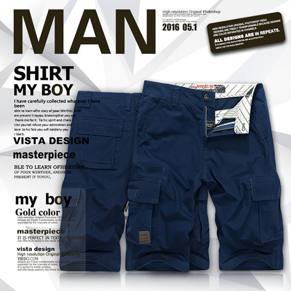 Men's Two-piece Suits Short-sleeved T-Shirts - 7