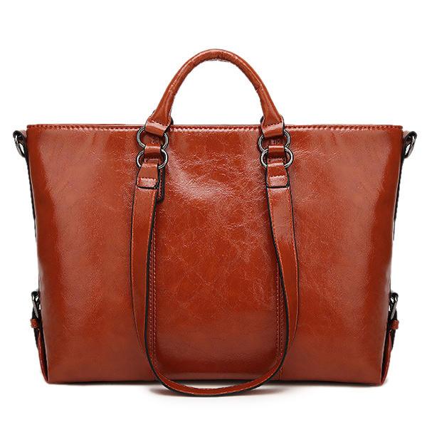 987bdf665fb Women Fashion Minimalist Handbag Leisure Business Shoulder Bag Tote Bag