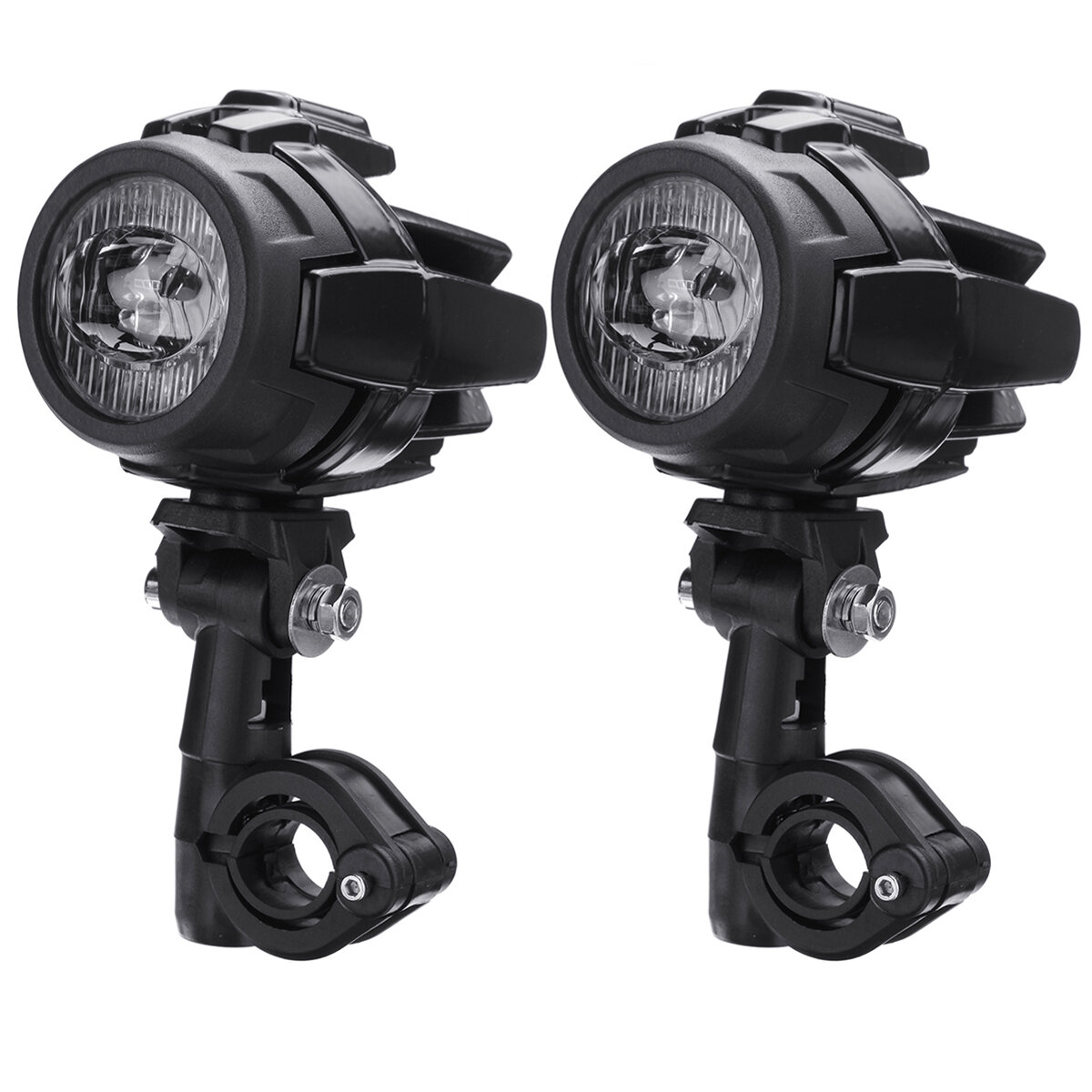 Motorcycle Front LED Headlights Fog Running Spot Light Super Bright For BMW R1200GS ADV OD - 1