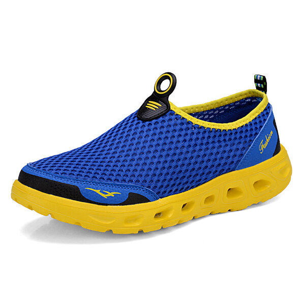 Lightweight Hollow Out Casual Sport Shoes In Mesh Sneakers - 4