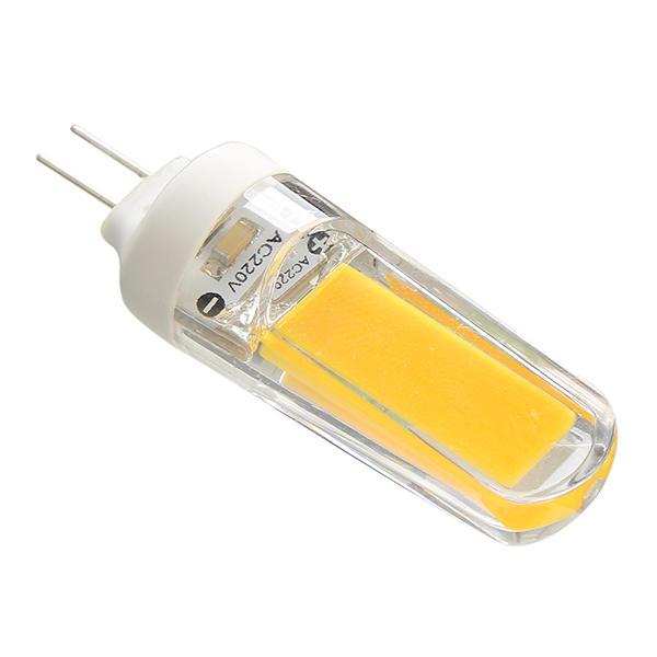 G9 3W COB 260LM Pure White Warm White Glass LED Light Bulb AC110V AC220V - 10