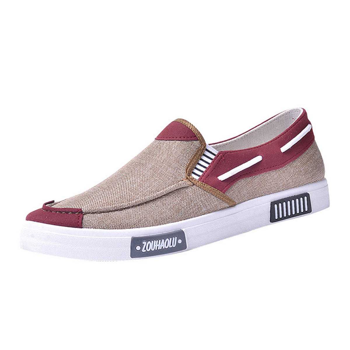 Men's Canvas Shoes Casual Sports Light Breathable Comfortable Sports Shoes Sneakers - 4
