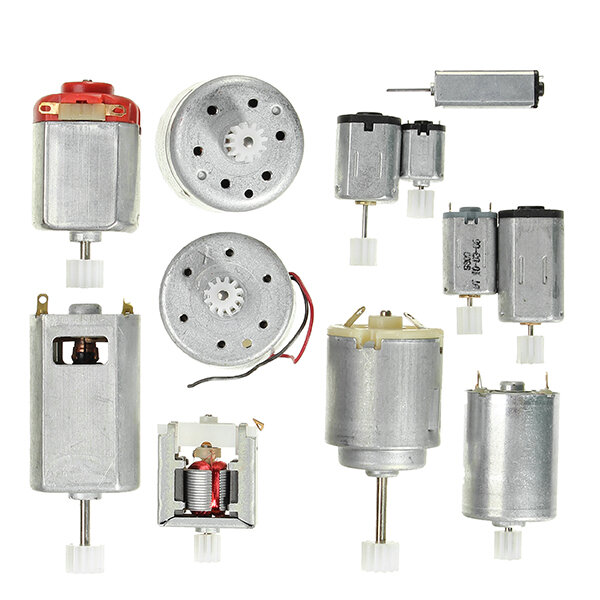 12 Kinds Gear Motor Micro DC Motor Pack DIY Model Parts for Robot Toy