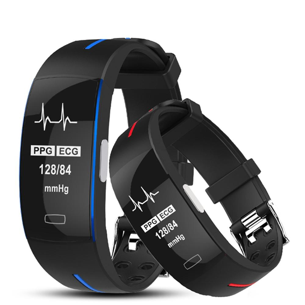 Bakeey P3 PLUS ECG+PPG Heart Rate Blood Pressure Monitor Smart Watch Activity Tracker Sport Watch