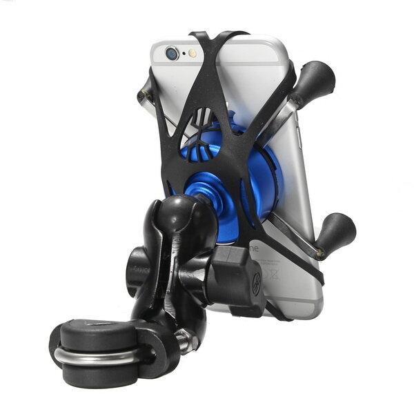USB Charger Mobile Phone Holder GPS Navigation Bracket For BMW R1200GS ADV S1000R S1000XR R1200R F700 800GS/Honda CRF1000 Motorcycle - 3