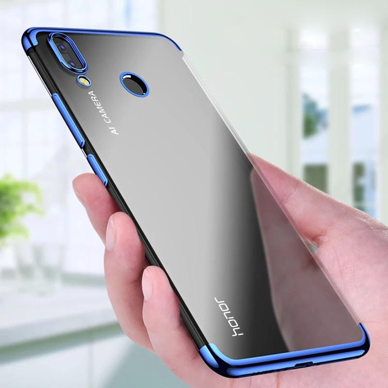 Bakeey Luxury Ultra Thin Color Plating Shock-proof Soft TPU Protective Case For Huawei Honor 8X