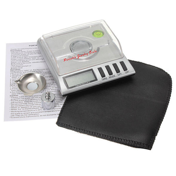 0.001g x 30g Digital Jewelry Pocket Scale Gram Precise Weighing - 6