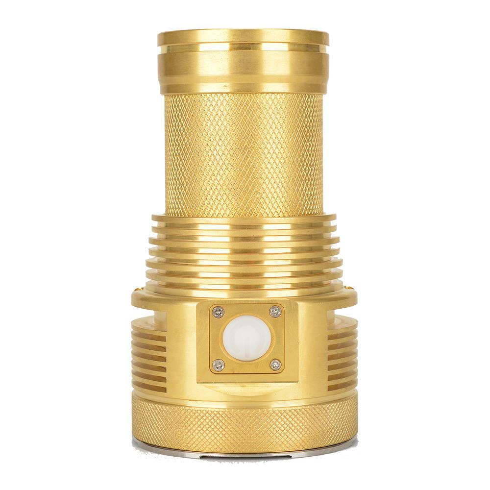 Haikelite MT03 Pure brass XHP70.2 21000Lumens Flashlight Pure brass case Limited Edition