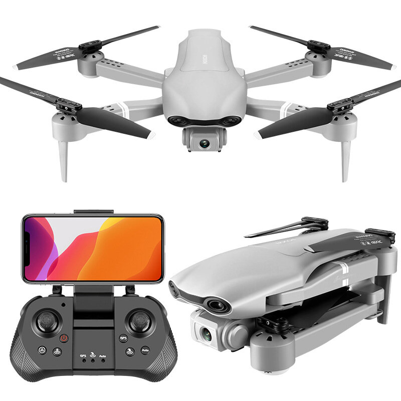 F3 Optical Flow 4K Dual Lens Camera GPS Positioning HD Aerial Drone Foldable RC Quadcopter RTF