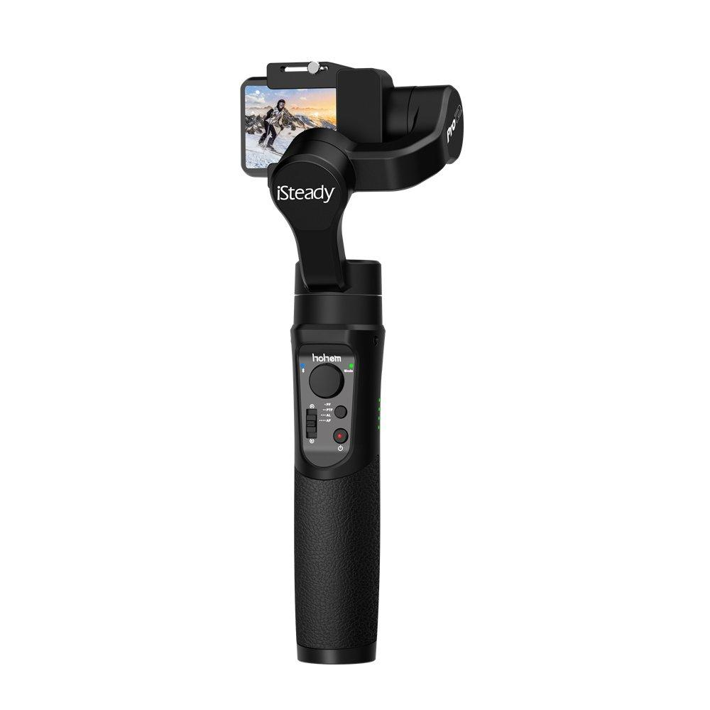 Hohem iSteady Pro 2 Upgraded Handheld Gimbal 3 A.xis Stabilizer for ALL Action Camera DJI OSMO Action Camera GoPro Hero 6/5/4/3 Sony RX0 SJCAM YI Eken Firefly Gopro Akaso