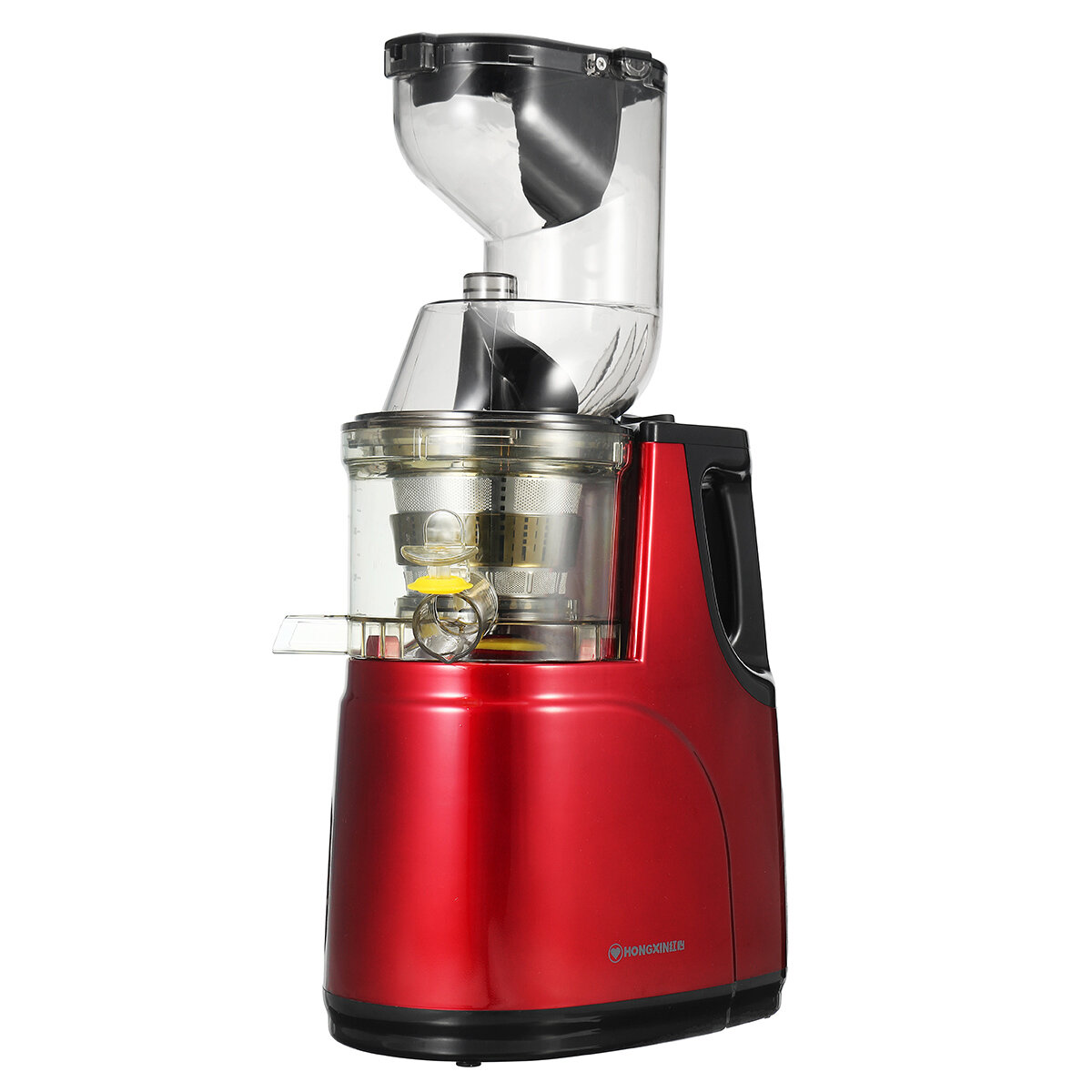 HONGXIN 150W Electric Juicer Cold Press Slow Whole Fruit Vegetables Mixer Machine Tool