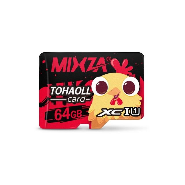 Mixza Year of the Rooster Limited Edition U1 64GB TF Micro Memory Card