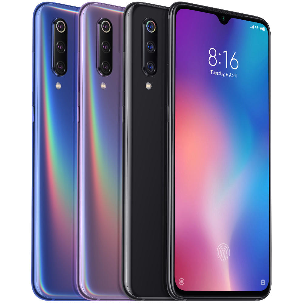Xiaomi Mi9 Mi 9 6.39 inch 48MP Triple Rear Camera 20W Wireless Charge NFC 8GB 128GB Snapdragon 855 Octa core 4G Smartphone