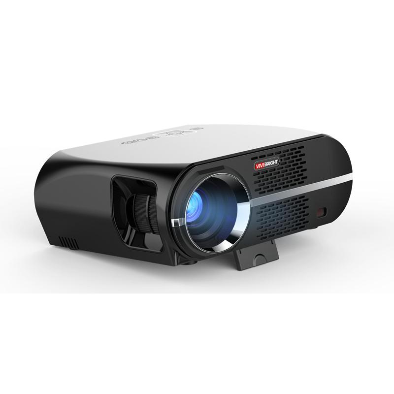Vivibright  GP100  LED プロジェクター LCD 3500 ルーメン    1280x800ピクセル 1080P HD VGA USB ホーム   シアター