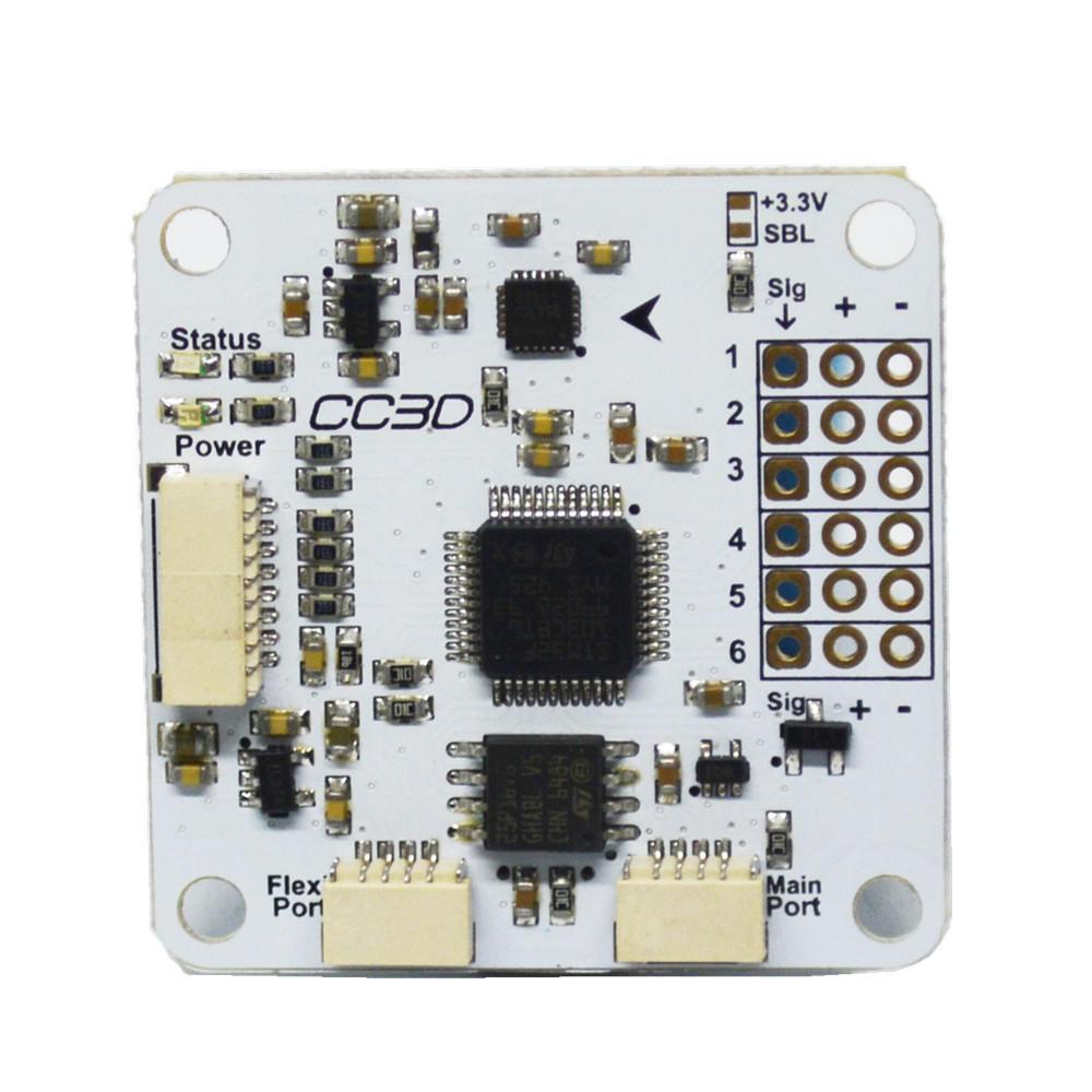 Betaflight / Openpilot CC3D Pro Pengendali Penerbangan 3S dengan Protektif Kasus untuk RC Drone FPV Racing