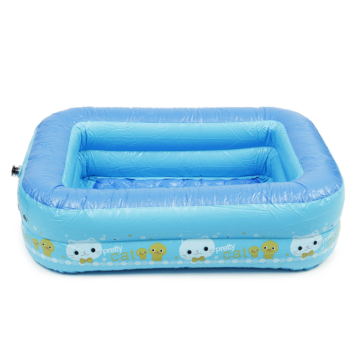 Baby kids Toddler Child PVC Inflatable Swimming Pools Bath Spas Summer Fun Toy - 3