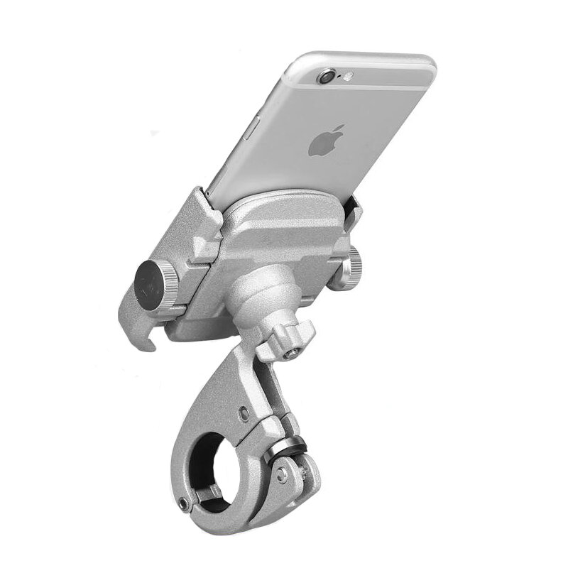 """BIKIGHT 4-6.8"""" Aluminum Alloy Bicycle Motorcycle Phone Adjustable Holder For iPhone X XS XR XS Max Xiaomi Samsung Galaxy s6/s7/s8/s9 Plus GPS"""