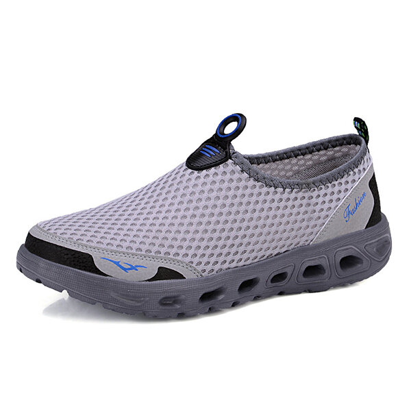 Lightweight Hollow Out Casual Sport Shoes In Mesh Sneakers - 2