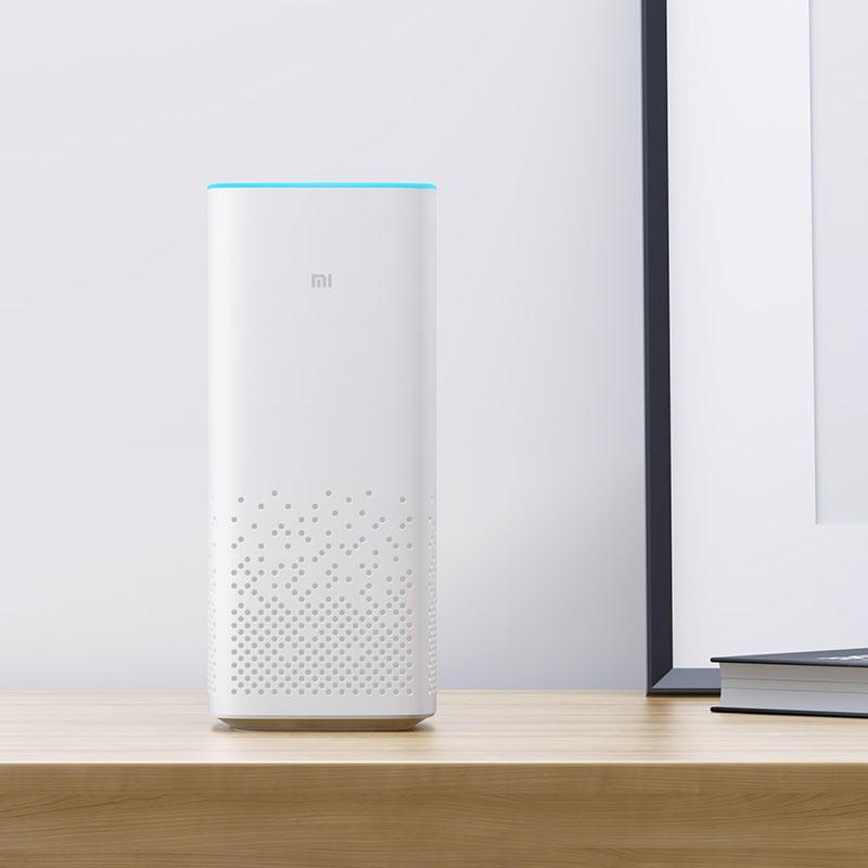 Original Xiaomi AI Smart Voice Control Haut-parleur Bluetooth sans fil mains libres avec six microphones