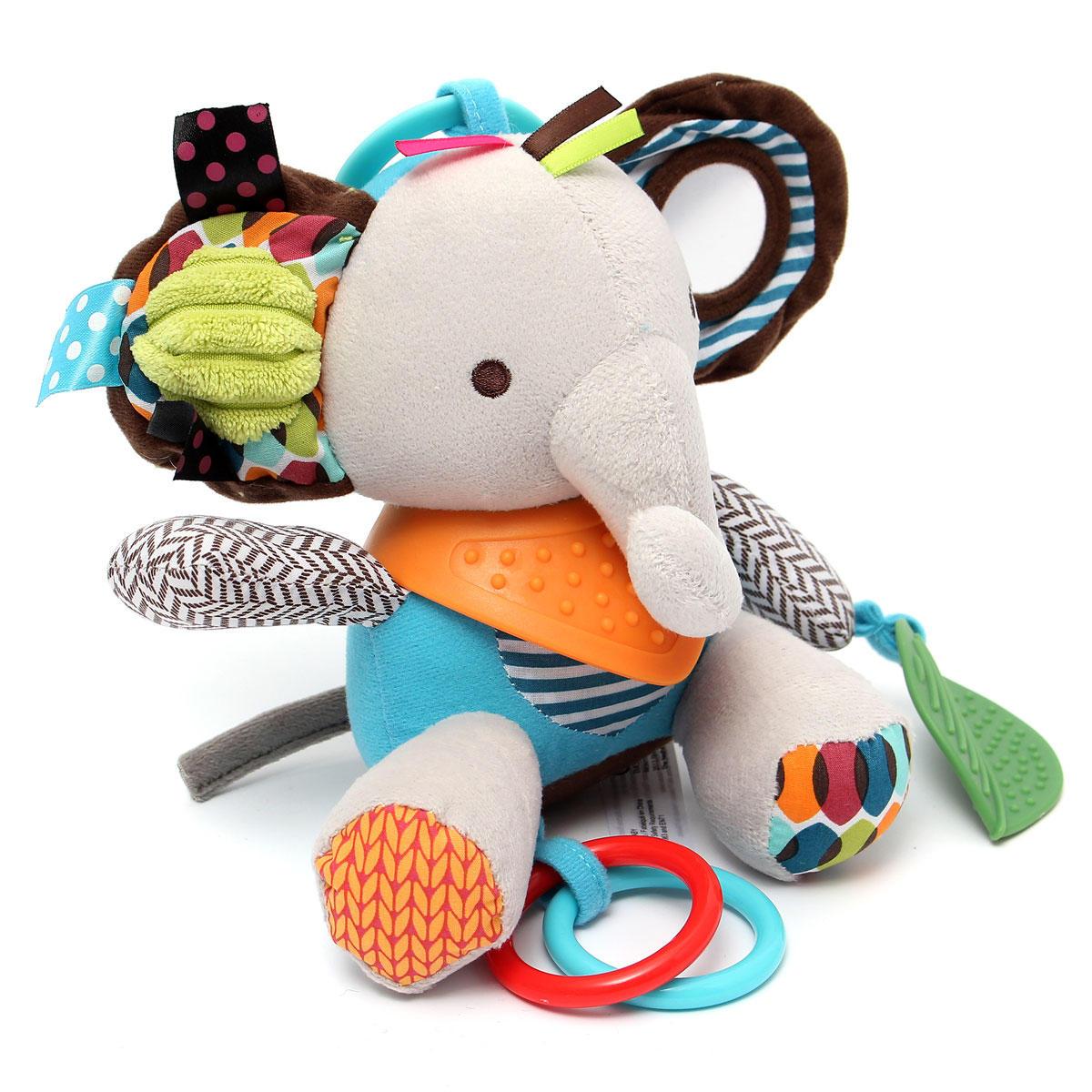 Mordedor bebé infantil preferido apaciguar a los juguetes suaves tranquilas desarrollo muñeca linda