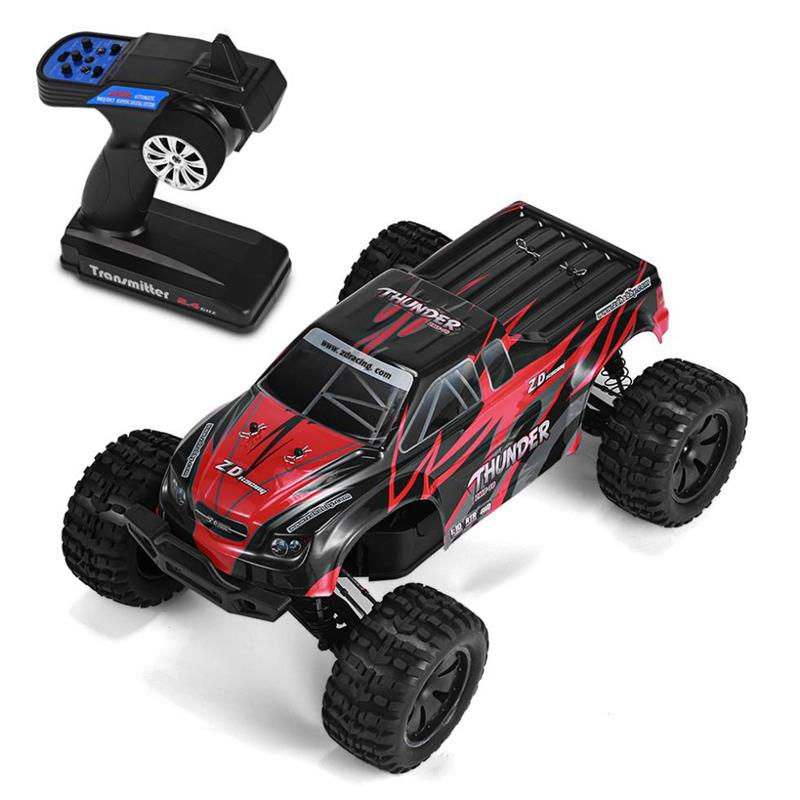 EMAX Interceptor 1/24 2.4G RWD FPV RC Car with Goggles Full Proportional Control RTR Model - 1