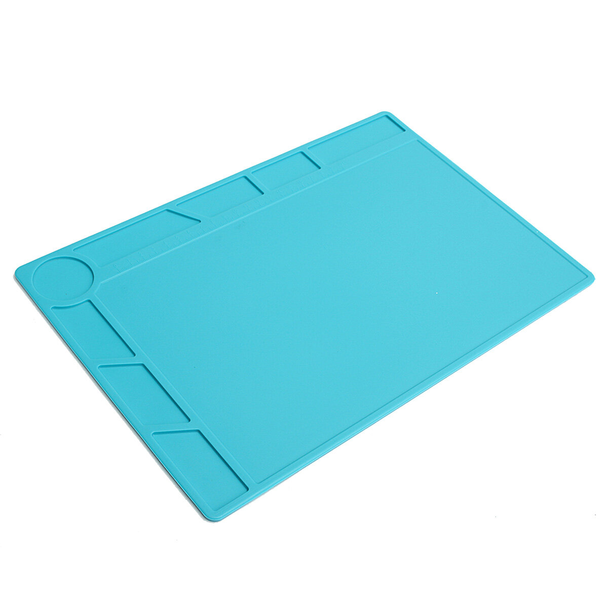 35x25cm Magnetic Heat Resistant Silicone Pad Desk Mat Maintenance Platform Heat Insulation BGA Soldering Repair Station - 6