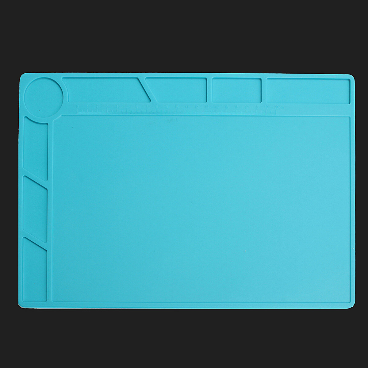 35x25cm Magnetic Heat Resistant Silicone Pad Desk Mat Maintenance Platform Heat Insulation BGA Soldering Repair Station - 2