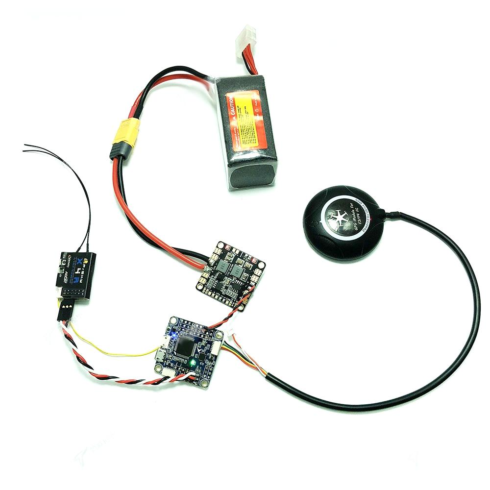 Inav F4 Deluxe 30 5x30 5mm Flight Controller Integrated with GPS Compass  Baro OSD for RC Drone
