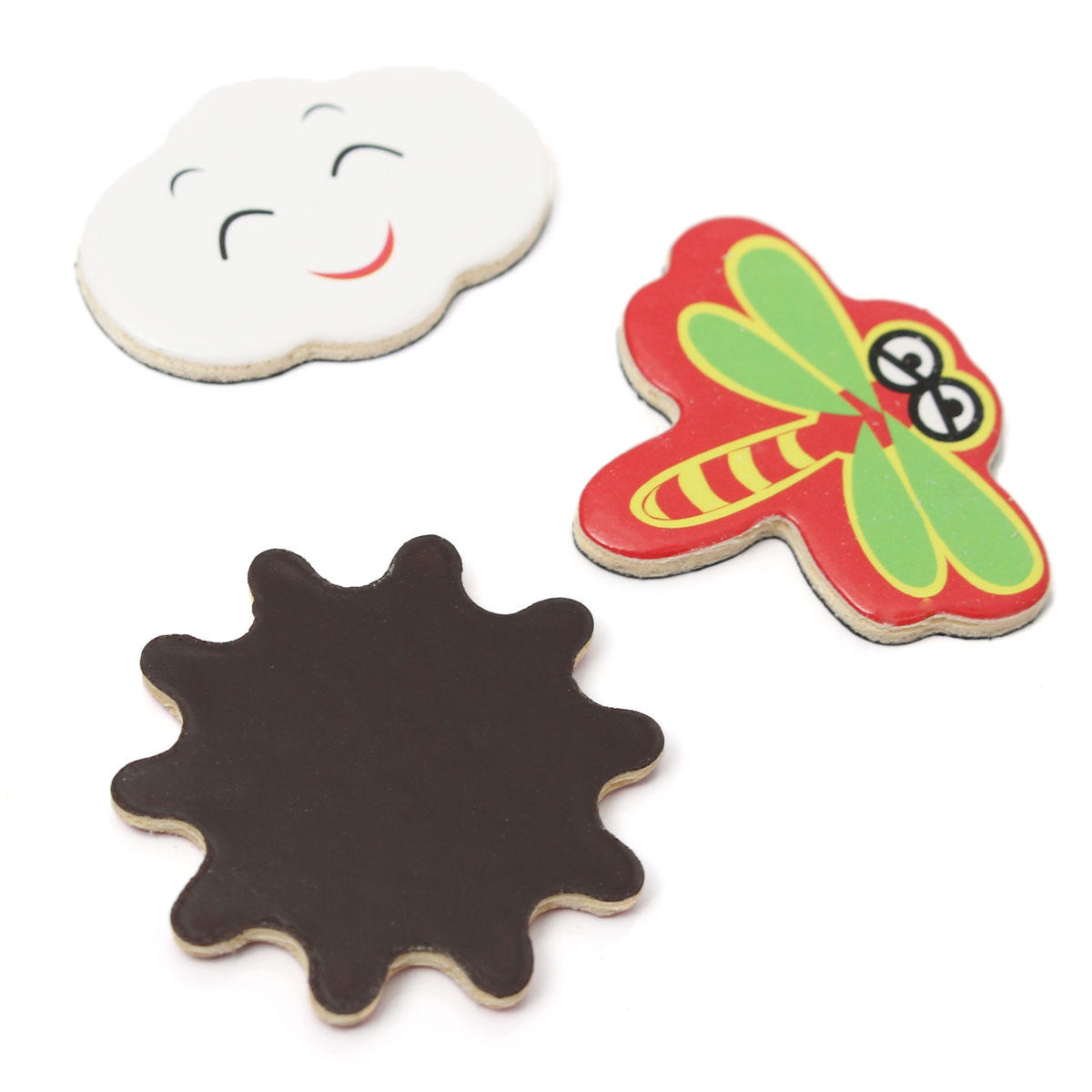 Kids Educational Learning Wooden Magnetic Drawing Board Jigsaw Puzzle Toys - 9