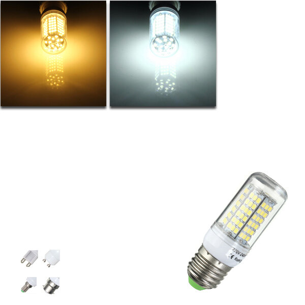 ARILUX® E27 E14 B22 GU10 G9 5W SMD5730 Constant Current Smart IC 89LEDs Corn Light Bulb AC220V - 1