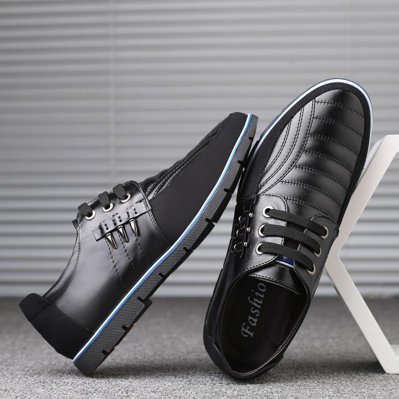 Big Size Men Microfiber Business Soft Oxfords Leather Shoes - 7