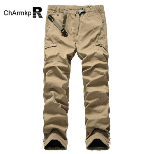 Outdoor Camouflage Multi Pockets Casual Pants Men's Military Tactical Trousers Overalls - 5