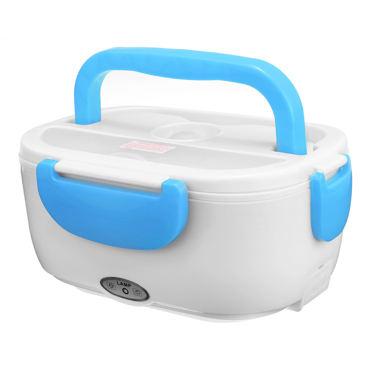 1.2L 220V 40W Electric Lunch Box Heated Food Container Car Plug Picnic Bento