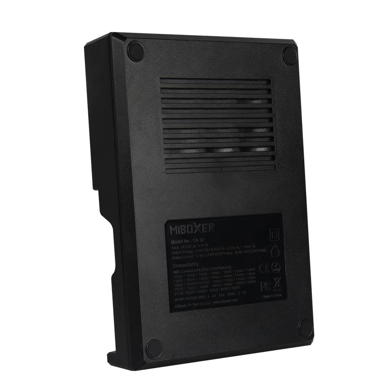 Miboxer New C4 12 LCD Adjustable Intelligent Battery Charger 4 Slots Multiple Battery For 18650 26650 AAA Li ion Ni MH Ni Cd Battery - 6