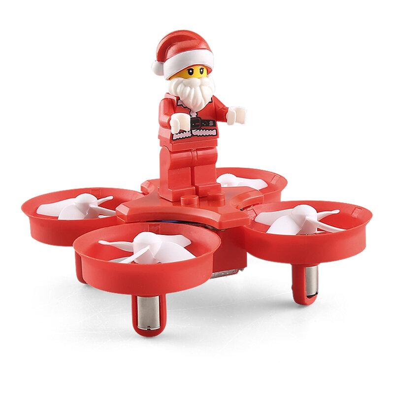 JJRC H67 Flying Santa Claus con canciones de Navidad 716 motor Modo sin cabeza RC Drone Cuadricóptero