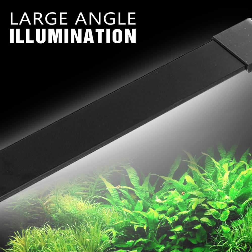 10W 20CM LED Aquarium Light Fish Tank Lamp Diming 3 Modes AC80-240V - 2