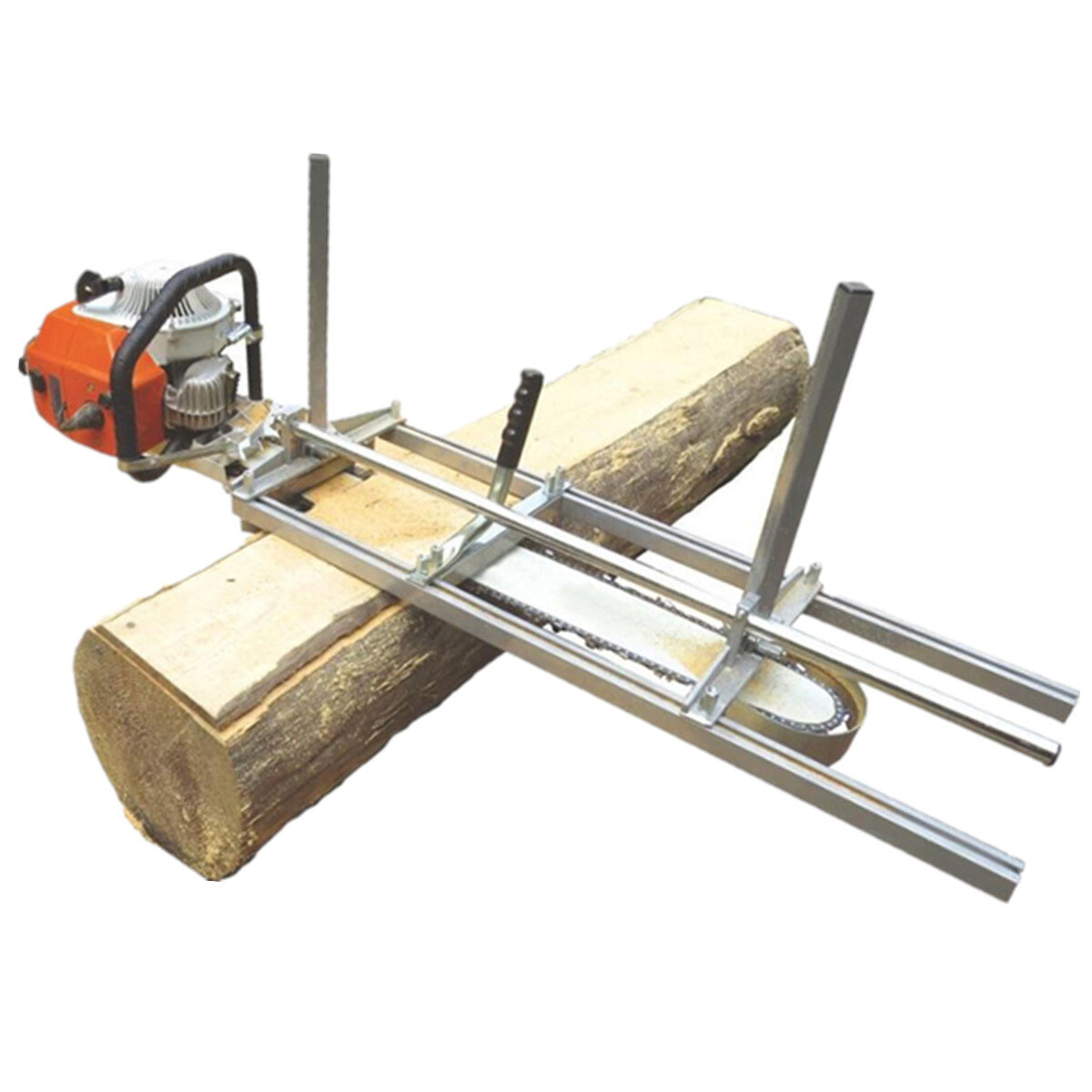 """Portable Chainsaw Mill Planking Milling From 18"""" to 48"""" Guide Bar Chainsaws Chain Saws Lumber Cutting Tool Kit"""