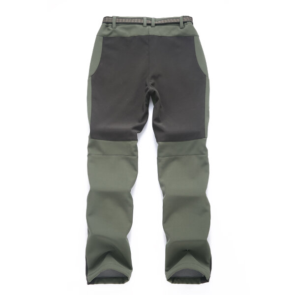 Outdoors Thick Fleece Warm Pants Soft Shell Trousers - 6