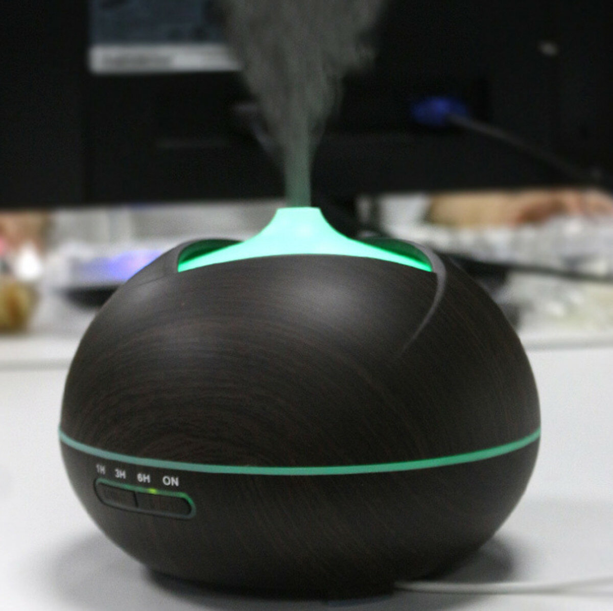 Ultrasonic Essential Oil Aroma Diffuser Air Humidifier Aromatherapy Purifier