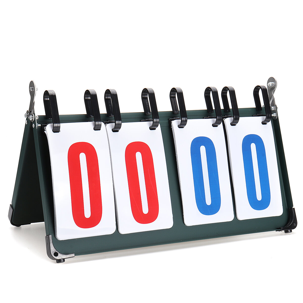 4/6 Digit Scoreboard Separator Portable Sports Match Football Basketball Game Judge Flip Score Board - 2