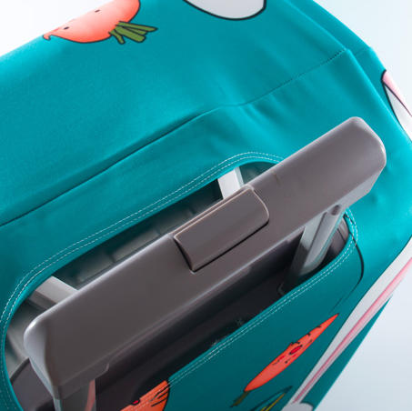 Global Brands Online Honana Cute Cartoon Rabbit Elastic Luggage Cover Trolley Case Cover Durable Suitcase Protector