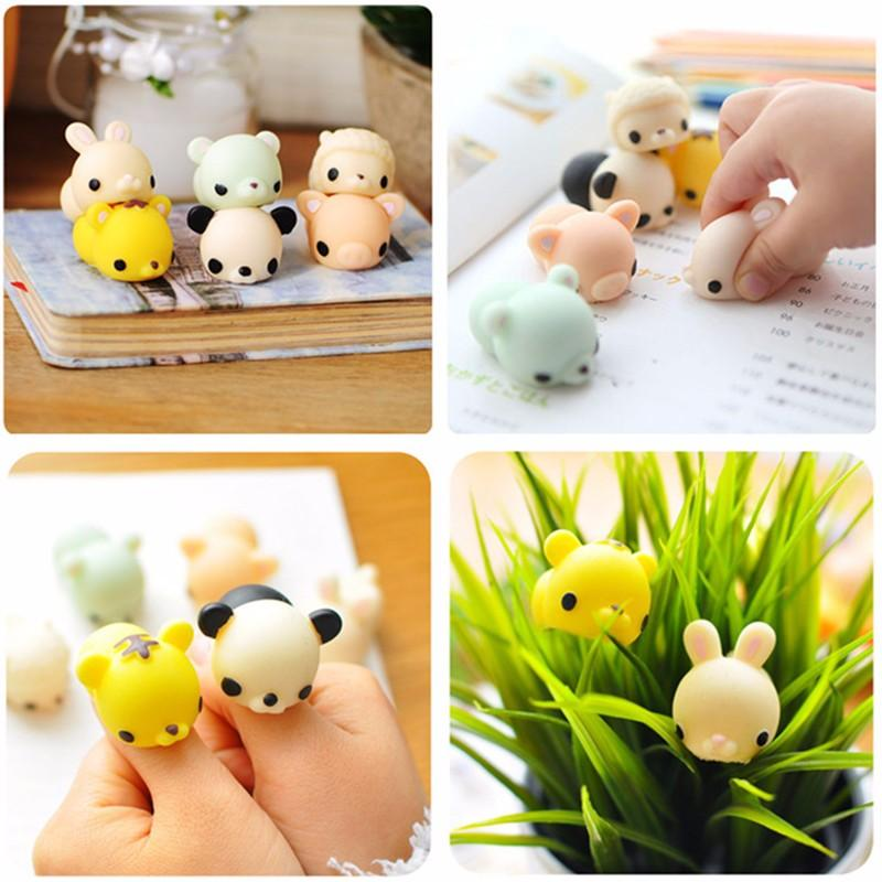 Caterpillar Squishy Squeeze Cute Healing Spielzeug Kawaii Collection Stress Reliever Geschenk Dekor - 10