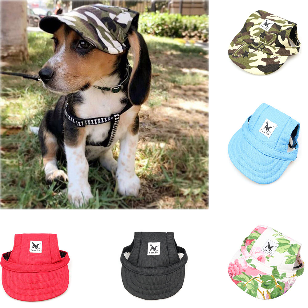 Summer Pet Dog Cute Print Cap Baseball Hat Small Dog Outdoor Hat Baseball Cap Pet Grooming Dog Hat Pets Accessories For фото