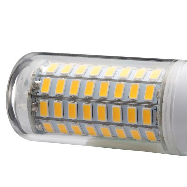 AC220-240V G9 5W 2835 No Flicker 52LED Ceramics Corn Light Bulb for Chandelier Replace Halogen Lamp - 8