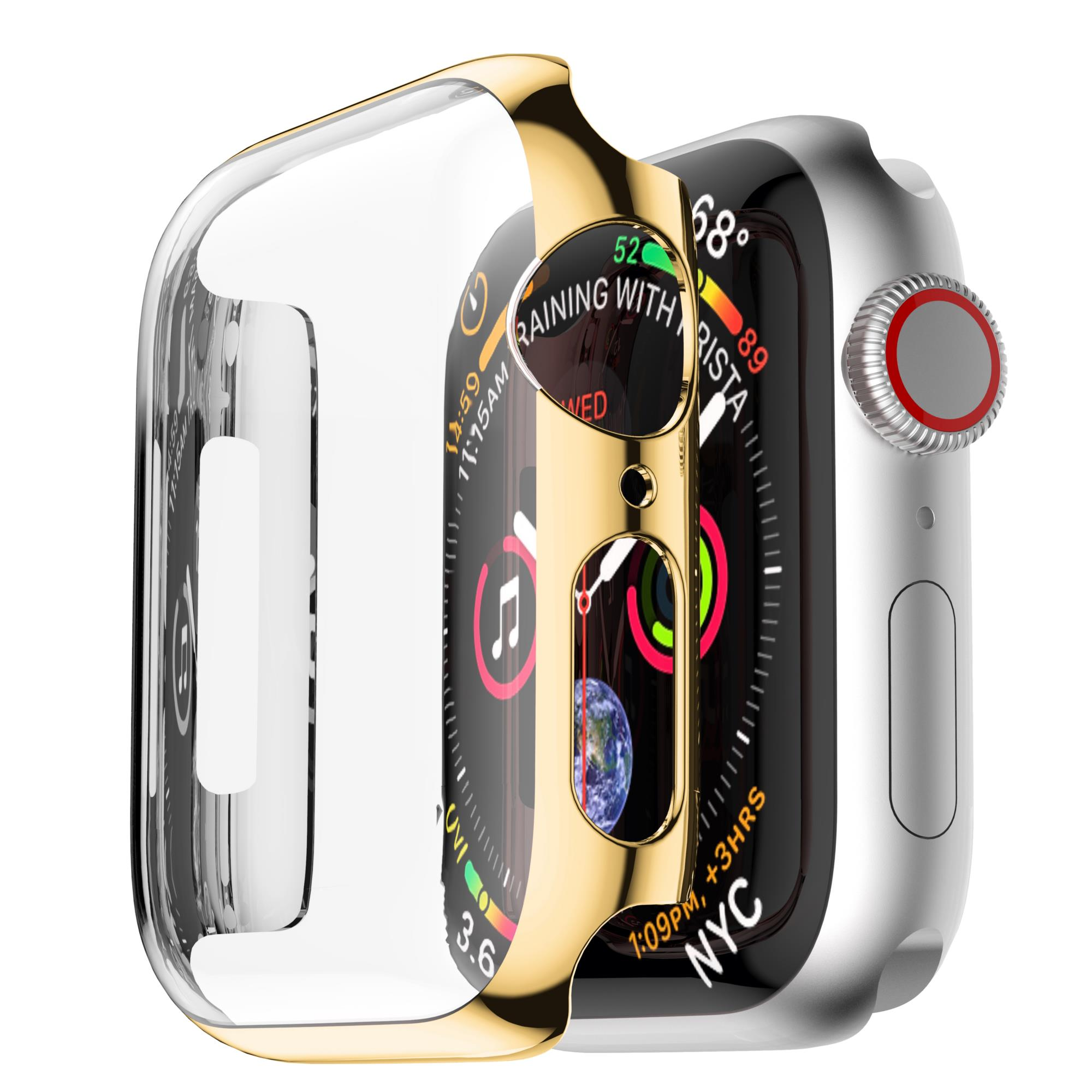 Bakeey Plating Touch Screen Hard PC Watch Cover For Apple Watch Series 4 40mm/44mm - 1