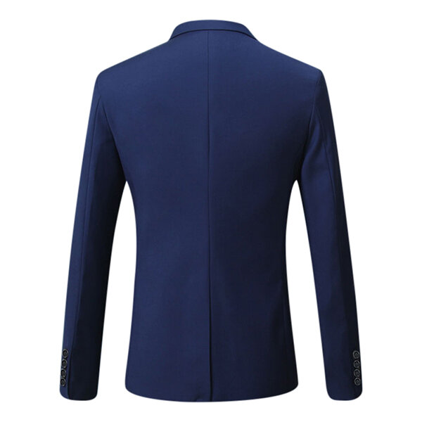 Mens Design Jacket Casual Slim Fit Suit Blazers - 5