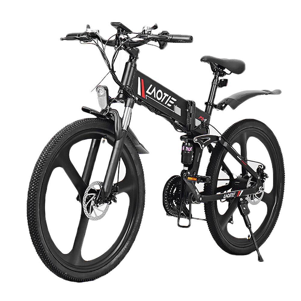Rower elektryczny LAOTIE PX7 48V 10Ah 350W Biały za $759.99 / ~2875zł